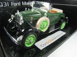 FORD MODEL A ROADSTER 1931 1/18 SUN STAR (BREWSTER