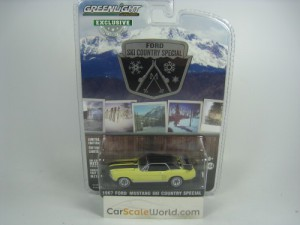 FORD MUSTANG SKI COUNTRY SPECIAL 1967 1/64 GREENLI