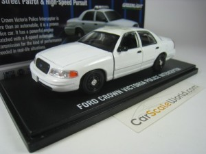 FORD CROWN VICTORIA POLICE INTERCEPTOR PLAIN BODY