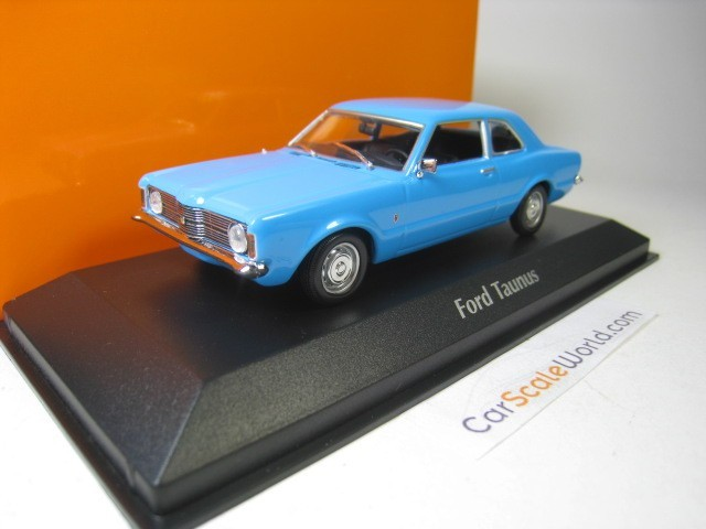 FORD TAUNUS COUPE 1970 1/43 MAXICHAMPS (LIGHT BLUE