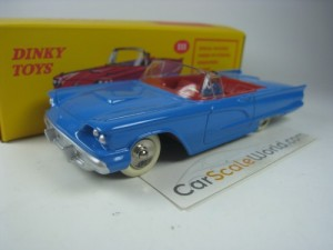 FORD THUNDERBIRD 1/43 DINKY TOYS ATLAS (BLUE)