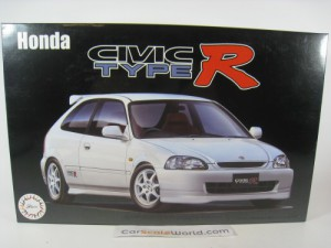 HONDA CIVIC TYPE R EK9 1999 1/24 FUJIMI (KIT ASSEM