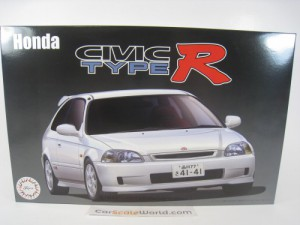 HONDA CIVIC TYPE R EK9 (LATE MODEL) 1/24 FUJIMI (K