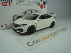 HONDA CIVIC TYPE R FK8 (RHD) 1/64 TSM MODEL (CHAMP