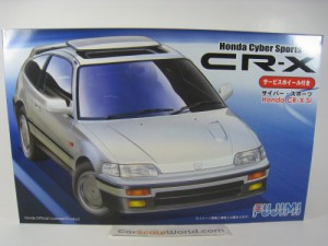 HONDA CR-X Si CYBER SPORTS 1/24 FUJIMI (KIT ASSSEM