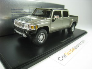 HUMMER H3T 2008 1/43 SPARK (GREY METALLIC)