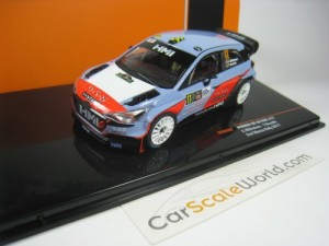 Ford Fiesta Wrc Rally Racc Catalunya 2018 K bloque 1:43 IXO RAM688