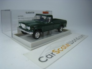 JEEP GLADIATOR 1/87 BREKINA (GREEN)
