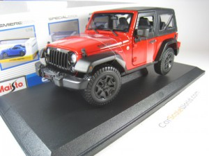 JEEP WRANGLER 2014 1/18 MAISTO (RED)