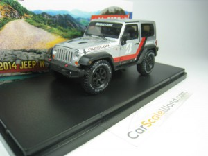 JEEP WRANGLER RUBICON 2014 BRIDGESTONE 1/43 GREENL