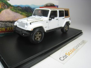 JEEP WRANGLER UNLIMTED GOLDEN EAGLE 2018 1/43 GREE