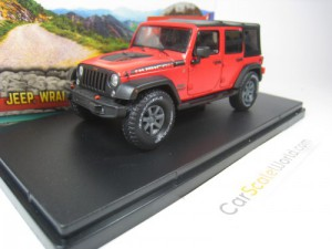 JEEP WRANGLER UNLIMITED RUBICON RECON 2017 1/43 GR