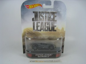 JUSTICE LEAGUE BATMOBILE HOTWHEELS