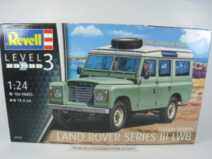 LAND ROVER SERIES III LWB STATION WAGON 1/24 REVEL