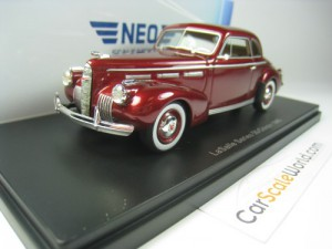 LASALLE SERIES 50 COUPE 1950 1/43 NEO (BURGUNDY)