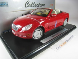 LEXUS SC 430 1/18 WELLY (RED)