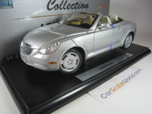 LEXUS SC 430 1/18 WELLY (SILVER)