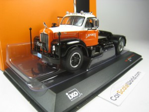 MACK B 61 1953 1/43 IXO (ORANGE/WHITE)