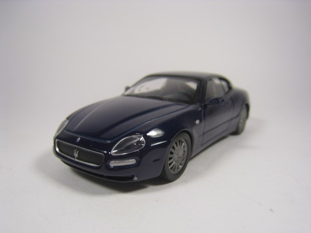 Maserati Coupe 1/43 Ixo Deagostini (Blue) With Bli