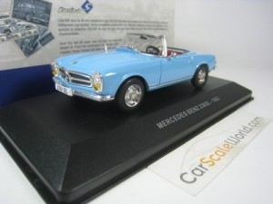 MERCEDES BENZ 230 SL 1963 1/43 SOLIDO (LIGHT BLUE)