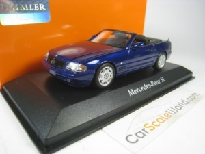 MERCEDES BENZ 500 SL 1999 (R129) 1/43 MAXICHAMPS (