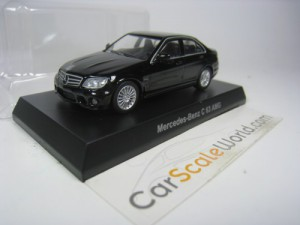 MERCEDES BENZ C63 AMG 1/64 KYOSHO (BLACK)