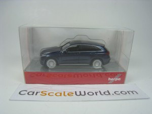 MERCEDES BENZ EQC 1/87 HERPA (BLUE)