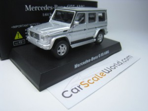 MERCEDES BENZ G55 AMG 1/64 KYOSHO (SILVER)