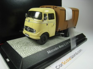 MERCEDES BENZ L319 VIEHTRANSPORTER 1/43 PREMIUM CL