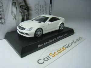 MERCEDES BENZ SL 65 AMG BLACK SERIES 1/64 KYOSHO (