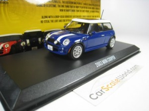 MINI COOPER S 2003 THE ITALIAN JOB 1/43 GREENLIGHT