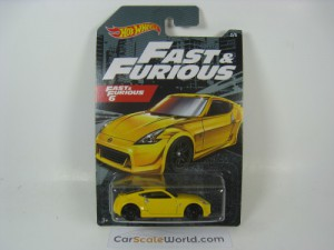 NISSAN 370Z FAST AND FURIOUS 6 HOTWHEELS (2/5)