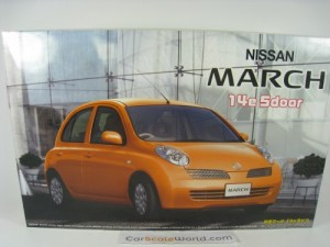 NISSAN MARCH - MICRA 14E 5 DOORS 1/24 FUJIMI (KIT