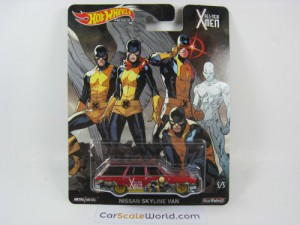 NISSAN SKYLINE VAN ALL NEW X-MEN HOTWHEELS (5/5)