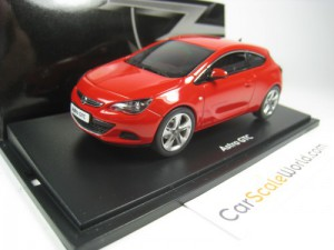 OPEL ASTRA GTC 2010 1/43 MOTORART (POWER RED)