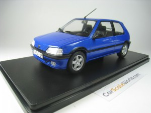 PEUGEOT 106 XSI 1993 1/24 IXO SALVAT (BLUE WITH BL