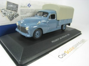 PEUGEOT 203 PICK UP 1952 1/43 SOLIDO (BLUE)