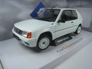 PEUGEOT 205 RALLYE PHASE 1 1/18 SOLIDO /WHITE)