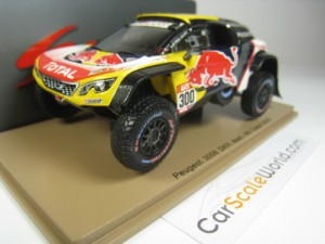 PEUGEOT 3008 DKR MAXI 4TH DAKAR 2018 #300 S. PETER