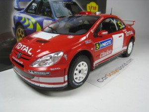 PEUGEOT 307 WRC 2004 FINLAND RALLY M. GRONHOLM 1/1