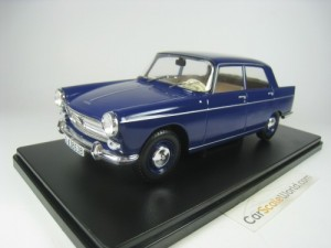 PEUGEOT 404 1960 1/24 IXO SALVAT (BLUE) WITH BLIST
