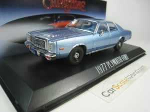 PLYMOUTH FURY 1977 CHRISTINE 1/43 GREENLIGHT (LIGH