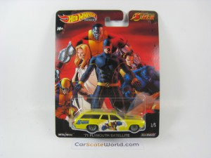 PLYMOUTH SATELLITE 71 X-MEN HOTWHEELS (2/5)
