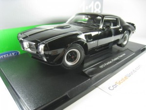PONTIAC FIREBIRD TRANS AM 1972 1/18 WELLY (BLACK)