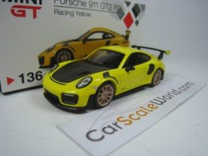 PORSCHE 911 GT2 RS (991) LHD 1/64 MINI GT (RACING