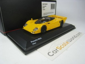 PORSCHE 962C STREET VERSION 1/64 KYOSHO (YELLOW)