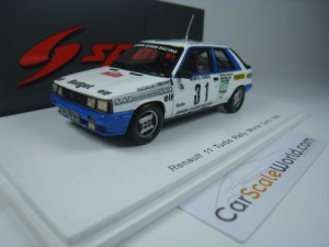 RENAULT 11 TURBO RALLY MONTE CARLO 1985 A. OREILLE