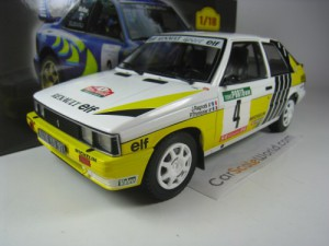 RENAULT 11 TURBO RALLY PORTUGAL 1987 J. RAGNOTTI 1