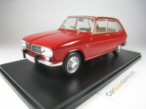 RENAULT 16 1965 1/24 IXO SALVAT (RED) WITH BLISTER