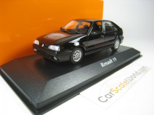 RENAULT 19 5 DOORS FACELIFT 1995 1/43 MAXICHAMPS (